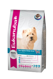 "Сухой корм Eukanuba ""Dog Adult West Highland White Terrier"", с курицей - вест-хайленд.jpg"