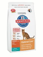 "Сухой корм Hill's SP ""Feline Adult Optimal Care with Tuna"", с тунцом"