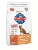 "Сухой корм Hill's SP ""Feline Adult Optimal Care with Lamb"", с ягненком"