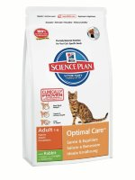 "Сухой корм Hill's SP ""Feline Adult Optimal Care with Rabbit"", с кроликом"