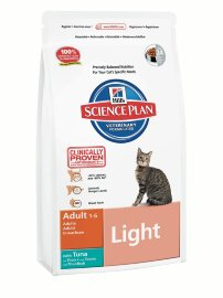 "Сухой корм Hill's SP ""Feline Adult Light with Tuna"", с тунцом - 7607.jpg"