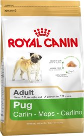 "Сухой корм Royal Canin BHN ""Pug Adult"" Сухой корм роял канин для собак породы Мопс"