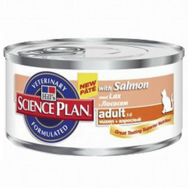 "Консервы Hill's SP ""Feline Adult with Salmon"", с лососем - Консервы Hill's SP ""Feline Adult with Salmon"", с лососем"