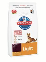 "Сухой корм Hill's SP ""Canine Adult Light with Chicken"", с курицей"