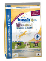 "Сухой корм Bosch ""Mini Adult Lamb and Rice"""