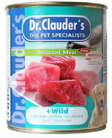"Консервы Dr.Clauder's ""High-Premium Selected Meat"", с дичью - drclaudersselected_meat_dc_300_370.jpg"